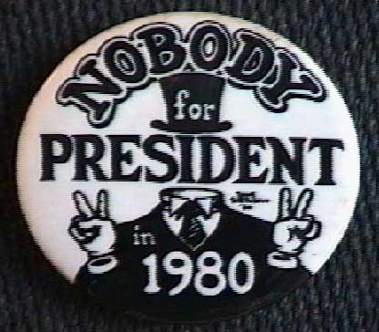 Nobody's Button, Dave Sheridan, 1980