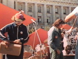 Wavy Gravy / Paul Krassner - City Hall, S.F. - 1976